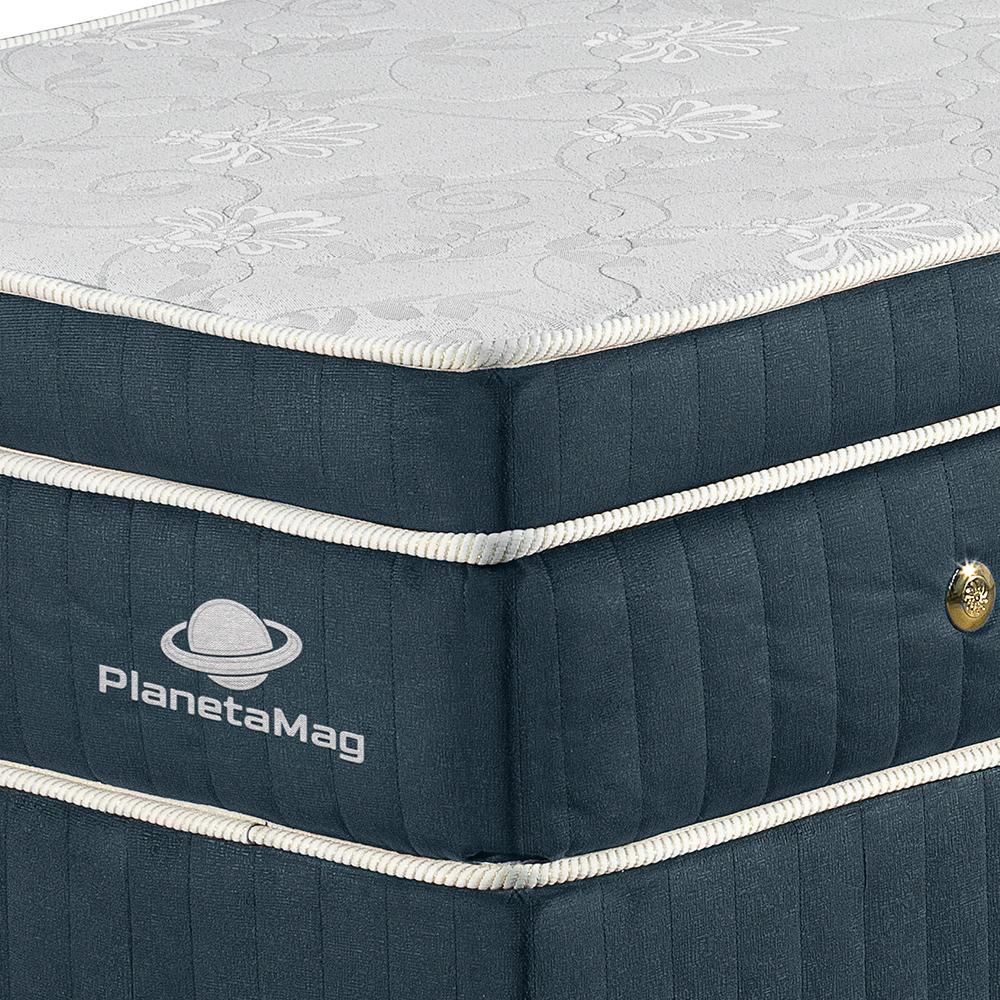 Colchão Magnético Tamanho Queen com Base Box Modelo Curitiba