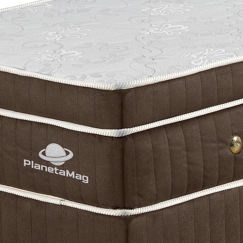 Colchão Magnético Tamanho King com Base Box Modelo Curitiba