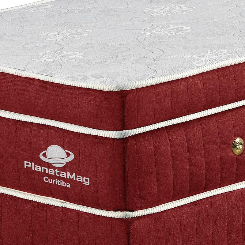 Colchão Magnético Tamanho Casal com Base Box Modelo Curitiba