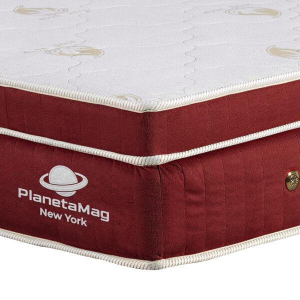 Colchão Magnético tamanho King com Vibromassagem - na cor vinho _ PlanetaMag_Destaque-2
