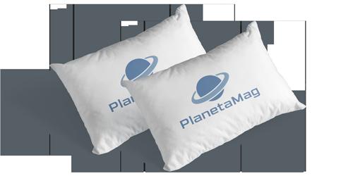 PlanetaMag Colchão Magnético Modelo Curitiba PROMOÇÃO com 2 travesseiros