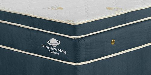 PlanetaMag Colchão Magnético Modelo Curitiba conjunto sem cabeceira - zoom 1